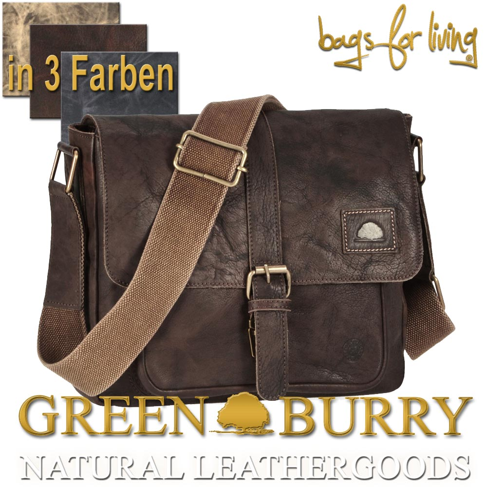 Greenburry Ledertasche Boisterous Messenger