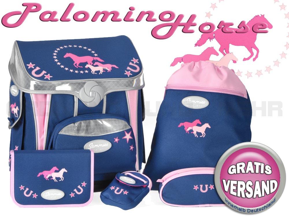 Sammies Schulranzen Set Palomino Horse
