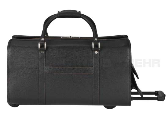 greenburry business leder reisetasche mit rollen pct 54169. Black Bedroom Furniture Sets. Home Design Ideas
