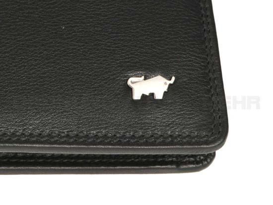 Hochwertige Braun Büffel Geldbörsen für Herren